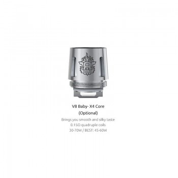 Résistances TFV8 Baby-X4 Quadruple (0.15 ohms) - Smoktech