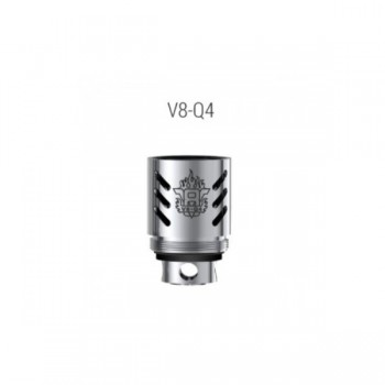 Résistances TFV8-Q4 (0.15 ohms) - Smoktech