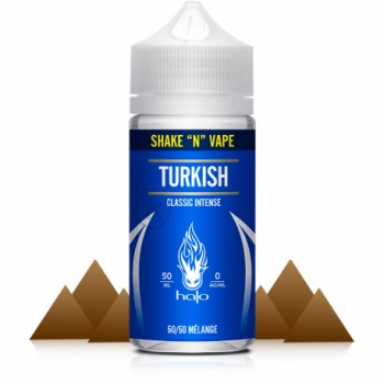 Eliquide Halo Saveur Turkish Tobacco 0mg - 50ml
