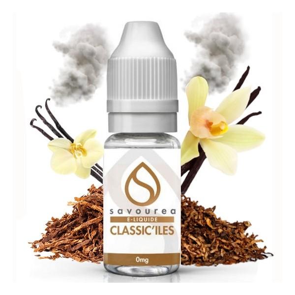 Eliquide Savourea saveur Tabac des Iles - 10ml