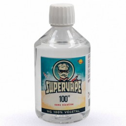 Base 100VG sans nicotine 500ml - SuperVape