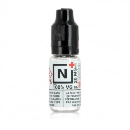 Booster de nicotine 20mg 100VG - N+ 10ml